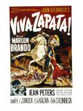Viva Zapata!, Marlon Brando, Jean Peters, 1952 Fotografia