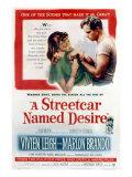 Streetcar Named Desire, Vivien Leigh, Marlon Brando, 1951 Fotografia