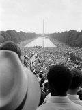 Civil Rights March on Washington D.C. Foto af Warren K. Leffler