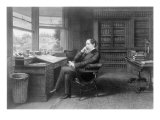 Charles Dickens in His Study at Gad's Hill Place Photo