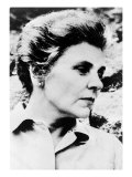 Elizabeth Bishop American Poet, Won the 1956 Pulitzer Prize for Her Book, Poems - North and South Foto
