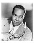 Charlie Parker, 'Yardbird', African American Jazz Saxophonist in 1947 Photo