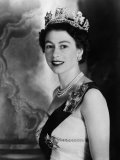 Queen Elizabeth II of England, Mid-1950s Foto