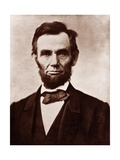 Abraham Lincoln in the Classic 1863 Portrait Poster