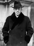 Russian Composer and Pianist Sergei Rachmaninoff, 1932 Photo