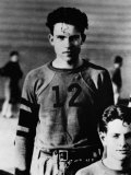 US President Richard Nixon, on Whittier College Football Team, Whittier, California, Early 1930s Photo