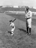Babe Ruth and Mascot, 1922 Foto