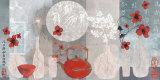 Asien Poster von Helene Druvert