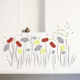 Fleurs des champs Autocollant mural