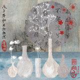 Asia Vases Kunstdrucke von Helene Druvert