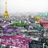 Eiffel Colours Pôsters por Anne Valverde