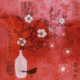 Asia Cherry Tree Poster von Helene Druvert
