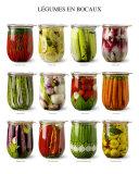 Vegetables in Jars Art