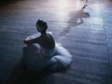 Ballet rehearsal, St. Petersburg, Russia Fotografisk tryk af Sisse Brimberg
