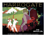 Harrogate Posters by Tom Purvis