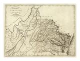 State of Virginia, c.1796 Posters av John Reid