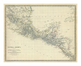 Central America, Southern Mexico, c.1842 Prints
