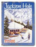 Jackson Hole Wood Sign