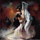 Argentijnse Tango I Posters van Willem Haenraets