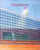 2009 Roland Garros Reproduction pour collectionneur par Konrad Klapheck