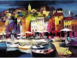 Ciudad portuaria  II Arte por Willem Haenraets
