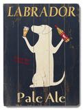 Labrador Pale Ale 木製看板