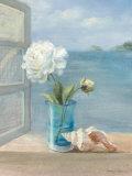 Coastal Floral I Pôsteres por Danhui Nai