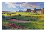 Golfbaan St Andrews Premium gicléedruk van R. Sipos