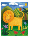 Leo the Lion Premium Giclee Print by Sophie Harding