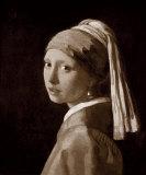 Jeune Fille A La Perle Impressão giclée premium por Johannes Vermeer