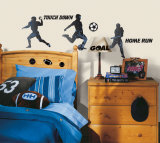 Sports Silhouettes Autocollant mural