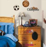 Gioca a palla (sticker murale) Decalcomania da muro