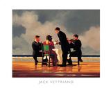 Elegie für einen toten Admiral Poster von Jack Vettriano