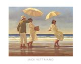 De Picknick II Poster van Vettriano, Jack