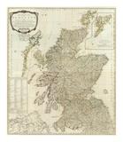 Composite: Scotland or North Britain, c.1790 Poster av Robert Campbell