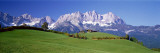 Ellmau Wilder Kaiser, Tyrol, Østerrike Fotografisk trykk