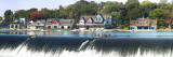 Boathouse Row at the Waterfront, Schuylkill River, Philadelphia, Pennsylvania, USA Photographic Print by  Panoramic Images