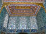 Interiors of a Palace, Topkapi Palace, Istanbul, Turkey Lámina fotográfica