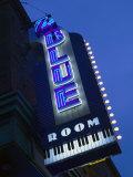 The Blue Room Jazz Club, 18th and Vine Historic Jazz District, Kansas City, Missouri, USA Fotografisk tryk