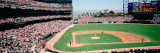 High Angle View of a Stadium, Pac Bell Stadium, San Francisco, California, USA Fotoprint