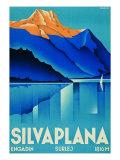 Poster for Silvaplana Giclée-Druck