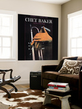 Chet Baker - With Fifty Italian Strings Poster géant