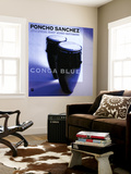 Poncho Sanchez - Conga Blue Wall Mural