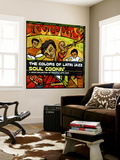 The Colors of Latin Jazz: Soul Cookin' Wall Mural