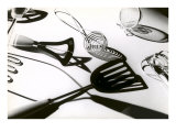Kitchen Utensils in Dramatic Lighting Prints