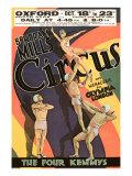 Mills Circus Acrobats Julisteet