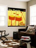 Tito Puente, Hot Timbales Wall Mural