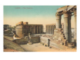 Temple at Luxor, Egypt Posters