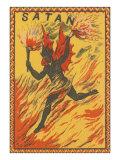 Satan Racing through Flames of Hell Julisteet