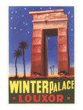 Winter Palace, Luxor, Egypt Kunstdrucke